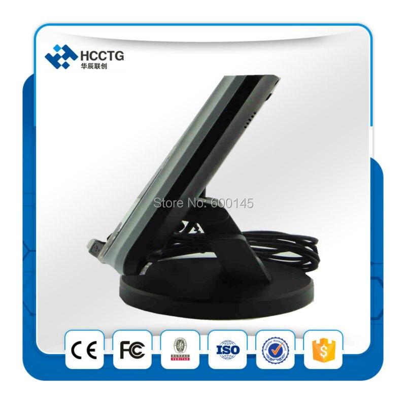 13.56 мГц USB + RJ45 Интерфейс acr123 интеллектуальные бесконтактные NFC читатель с ЖК дисплей