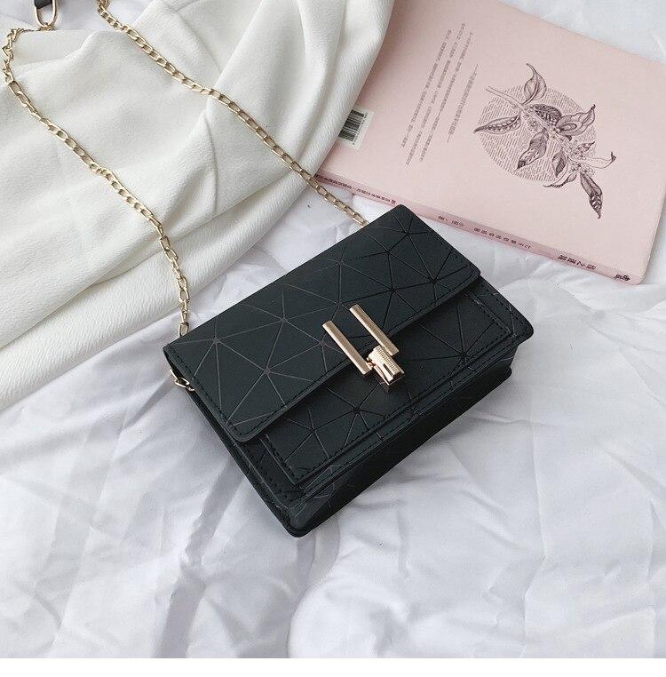 Women Fashion PU Plaid Crossbody Shoulder Bag Tote Ladies Flap Messenger  Handbag