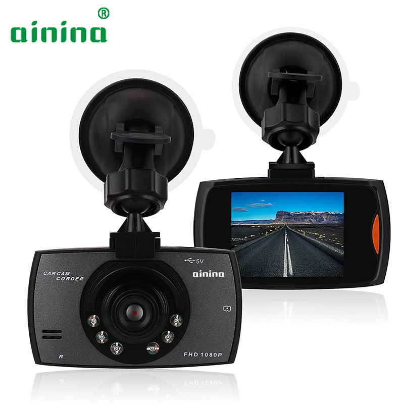 Ainina DVR Vehicle-Camera Car-Driving-Recorder G-Sensor Dashcam Night-Vision Motion-Detection