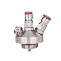 Ball Lock Mini Keg Tap Dispenser For Mini Beer Keg 304 Stainless Steel Dispenser Growler Homebrew Spear 3.6L/5L/10L Beer Tool