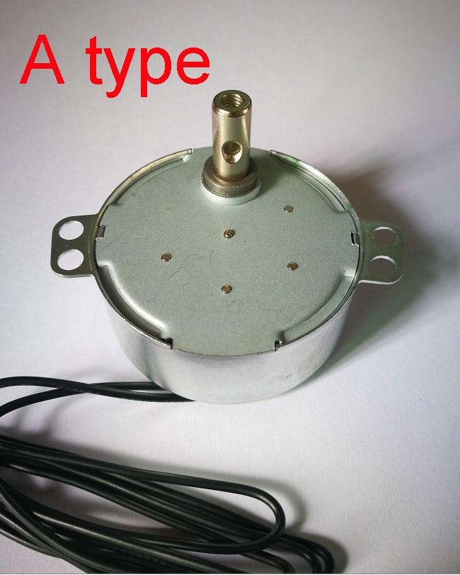 AC 100-127V 220-240V 50/60Hz Synchronous Motor 1.4RPM-60RPM Robust Torque 4W TYC-50