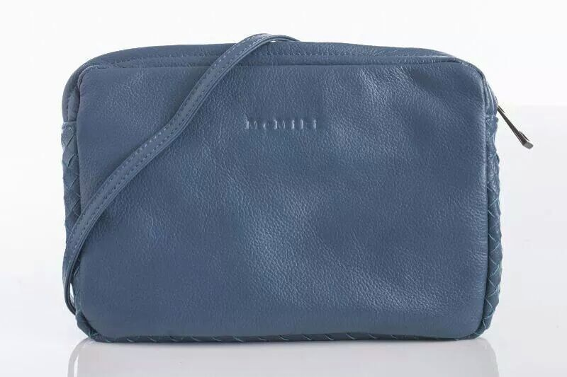 Brand MeMiki women genuine leather handbag weave casual toe dress shoulder bag high quality 27cm