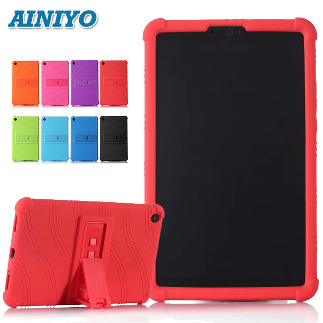 """silicon cover case For Xiaomi Mi Pad 4 Mipad4 8.0""""Tablet Pc for Mi Pad4 mipad 4 protective case + free 3 gifts"""