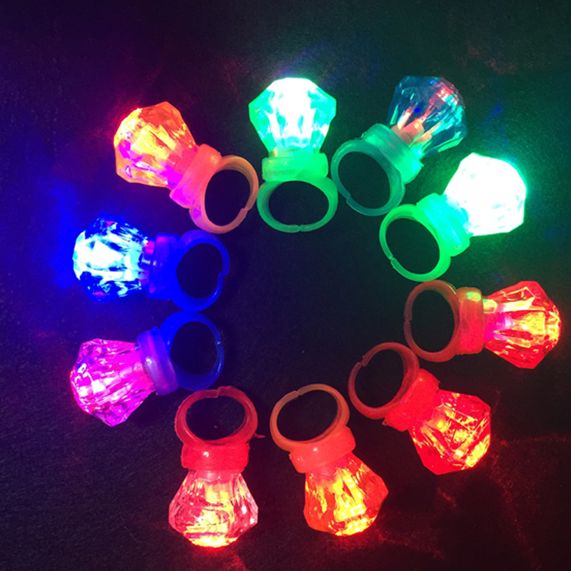 Flashing Whistle Colorful Lanyard Led Light Up Fun In The Dark Party Rave Glow Party Favors Kids Children Electronic Toys Special Summer Sale Novelty & Gag Toys
