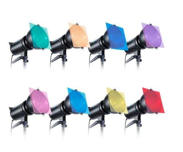"""Selens 12 """"/30 CM 8/11 Set Pack von Gel Blatt Transparent Farbe Korrektur Licht Gel Filter für Fotografie yongnuo Strobe Flash"""