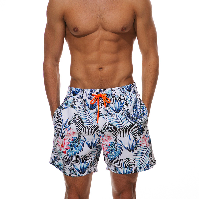 <font><b>Men</b></font> Swimming <font><b>Briefs</b></font> <font><b>2019</b></font> Breathable Sport Swimming Shorts Print Loose Waist Beach Trunks Summer <font><b>Swim</b></font> <font><b>Briefs</b></font> <font><b>Mens</b></font> Sexy Swimwear image