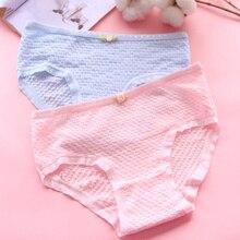 Girls Underwear panties Bow Low Waist Briefs Young Girl teenagers Pants children students 5pcs/lot CM-9040-5PCS
