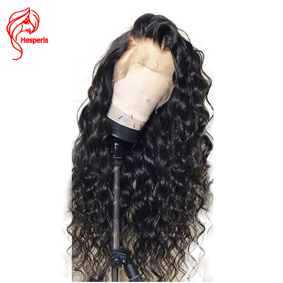360 Lace Frontal Wigs Pre Plucked With Baby Hair 150 Density Brazilian Remy Human Hair Wigs