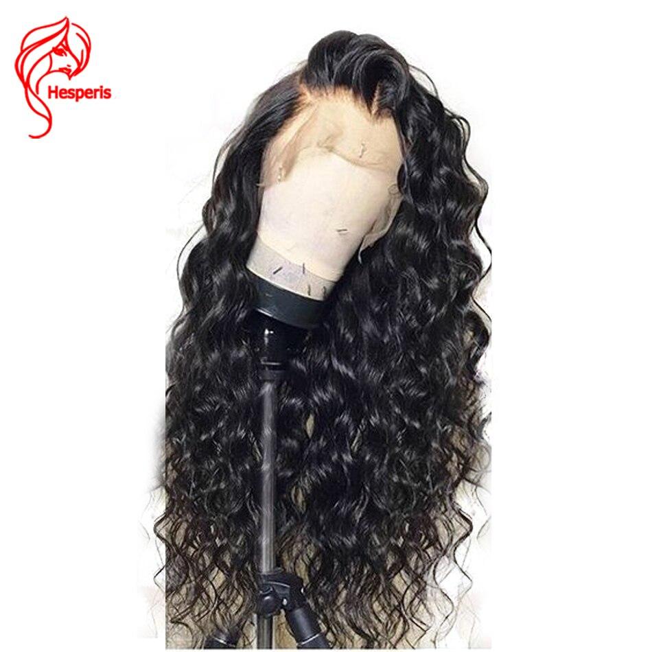 360 Dentelle Frontale Perruques Pré Pincées Avec Bébé Cheveux 150 Densité Brésilien Remy de Cheveux Humains Perruques 360 Dentelle Frontale Perruque hesperis Perruques