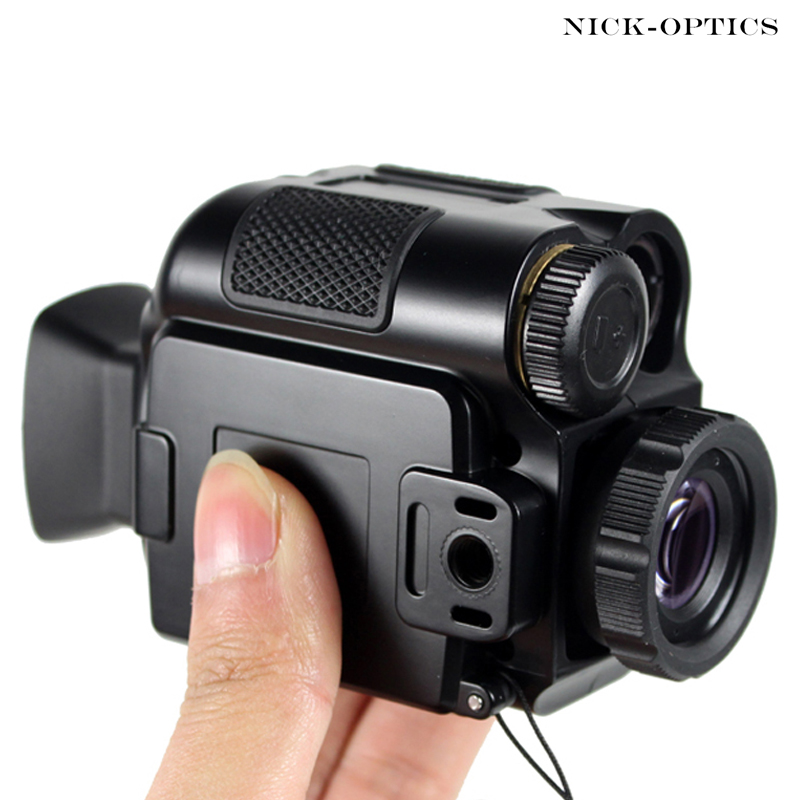Powerful Infrared night vision monocular telescope Tactical Optics Portable Magnification multipurpose HD binoculars for hunting