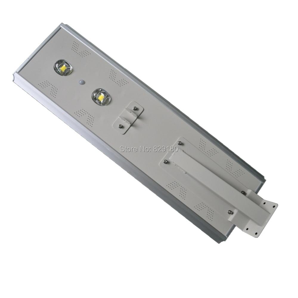 80W LED Solar Street Light,Solar Sensor Light,100W Solar Panel 57AH Battery All In One,Integrated Outdoor Solar Light, Ip65