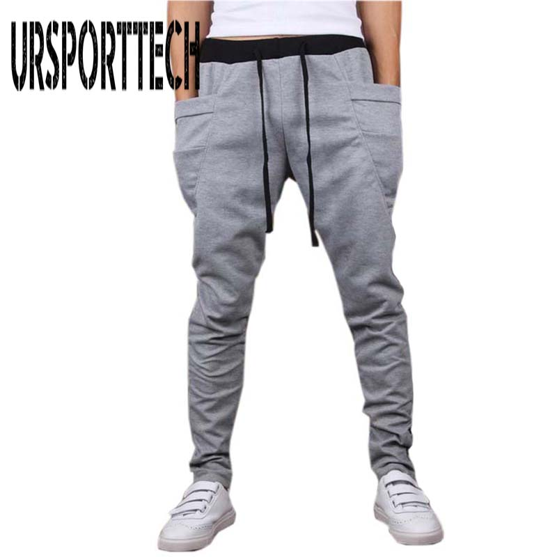 Men Pants Clothing Outwear Hip-Hop Fitness Men's Casual Big-Pocket Hot-Sale Unique High-Quality