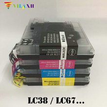 LC38 LC61 LC11 LC16 LC65 LC67 LC980 LC985 LC1100 Ink Cartridge for Brother DCP-385C DCP-390CN DCP-395CN DCP-535CN DCP-585CW