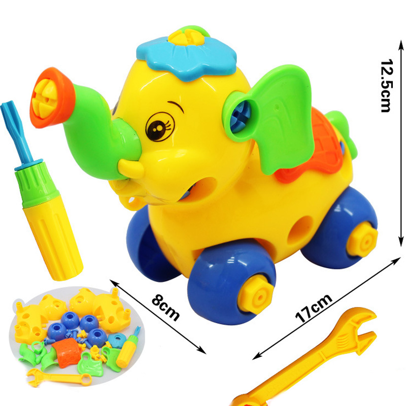 High Quality Aliexpress.com : Buy Early Learning Education DIY Screw Nut Group Installed  Plastic 3d Puzzle