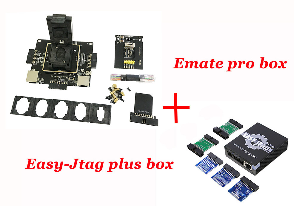 New E-mate Box Emate Pro Box E-socket Emmc Tool All In 1 Free Shipping Communication Equipments 2019 Original Newest Easy Jtag Plus Box Back To Search Resultscellphones & Telecommunications