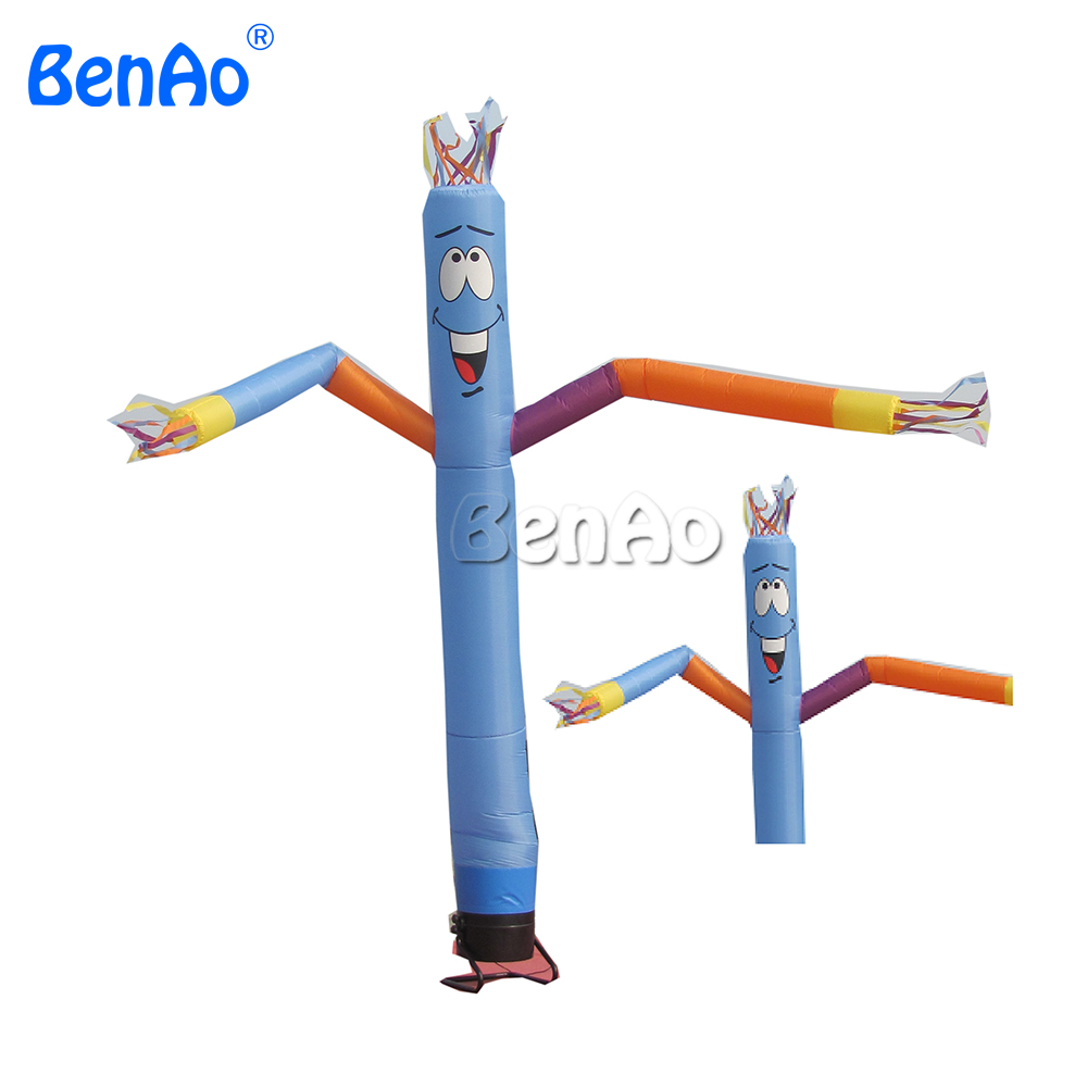 AD003 Free shipping 4m Custom advertising inflatable sky dancer/ air dancer can be customized hot 7 m height smile face free shipping inflatable air dancer sky dancer for event