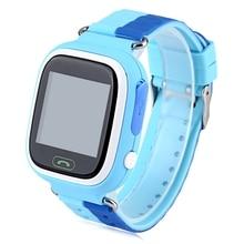 Оригинальная Красочная SOS GPS Smart Watch Micro SIM 1.22 дюймовый Экран Anti Потерянный Монитор Дети Smartwatch Q90 Для IOS Android
