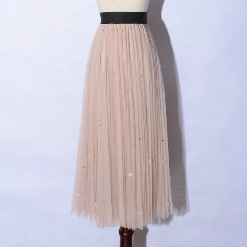 lace long skirt 01