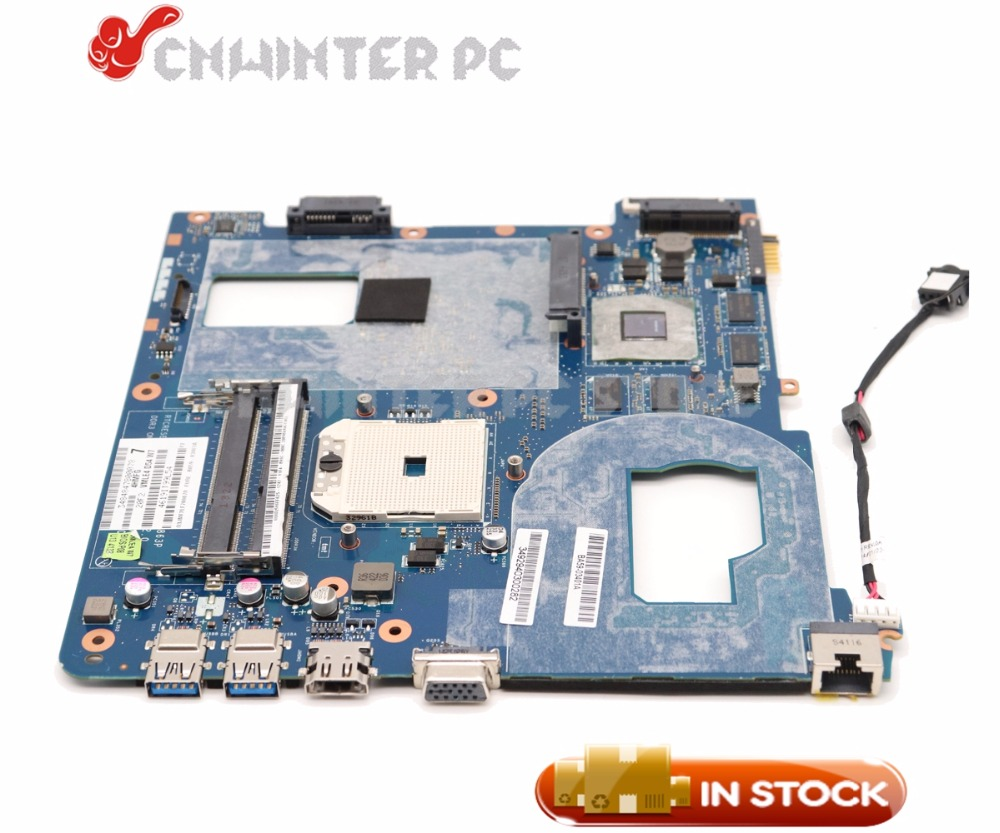 NOKOTION BA59-03568A Laptop Motherboard For Samsung NP355 NP355C4C NP355V5C QMLE4 LA-8863P Socket FS1 HD7600M GPU 1GB free shipping the laptop motherboard for samsung np355 np355c4c np355v5c qmle4 la 8863p hd7600 1gb socket fs1 ddr3 work perfect