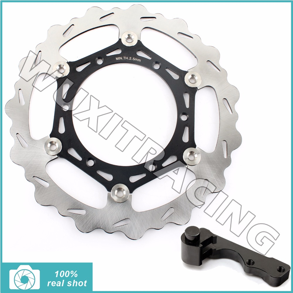 Oversize 270MM Front Brake Disc Rotor Bracket Adaptor for YAMAHA WR F YZ F 125 250 400 426 450 98 99 00 01 02 03 04 05 06 07-14 oversize 270mm front rear brake disc rotor bracket adaptor for yamaha yz 125 250 426 450 f wr125 wr250 wr426f wr450f 98 14 99 00