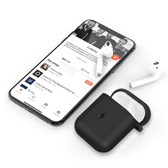 low priced c3048 62d58 US $11.18 39% OFF|Suntaiho Earphone Case For Apple AirPods Wireless Charger  Case for Apple Airpods Cover Bluetooth Headphone Protective box Soft-in ...