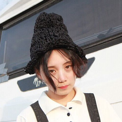 1 Pcs 2018 New Korean Pure Color Hollow Out Mesh Women bucket hat Autumn And Winter Snapback bob Fishing Hat 3 Colors