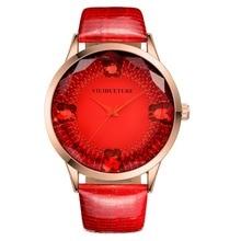 VIUIDUETURE Часы Женщины Кожа Кварцевые Часы Класса Люкс Популярные Женские Часы женская Мода Наручные Часы Часы relojes mujer