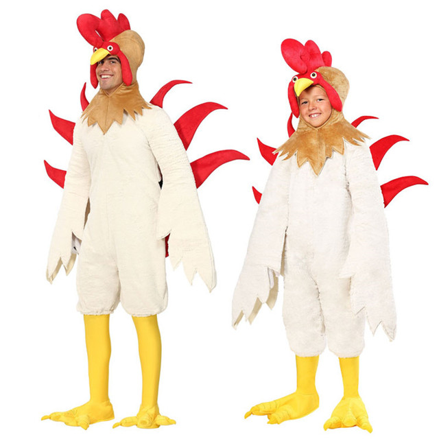 e87c8f3ccab3c adult chick costume kids halloween costumes white chicken costume animal  costumes carnival cosplay festival cosplay