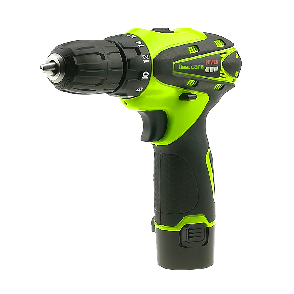 12v Cordless Screwdriver Rechargeable Drill Mini Battery Electric Drill One Lithium Battery Parafusadeira Furadeira Tools Carton lomvum 12v 16 8v 21v cordless rechargeable lithium battery electric screwdriver mini drill kit furadeira screw gun longyun