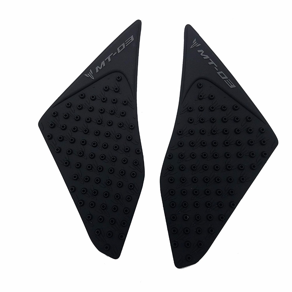 Knight For Yamaha MT-03 MT03 MT 03 2015-16 Motorcycle Protector Anti slip Tank Pad Sticker Gas <font><b>Knee</b></font> Grip Traction Side 3M Decal