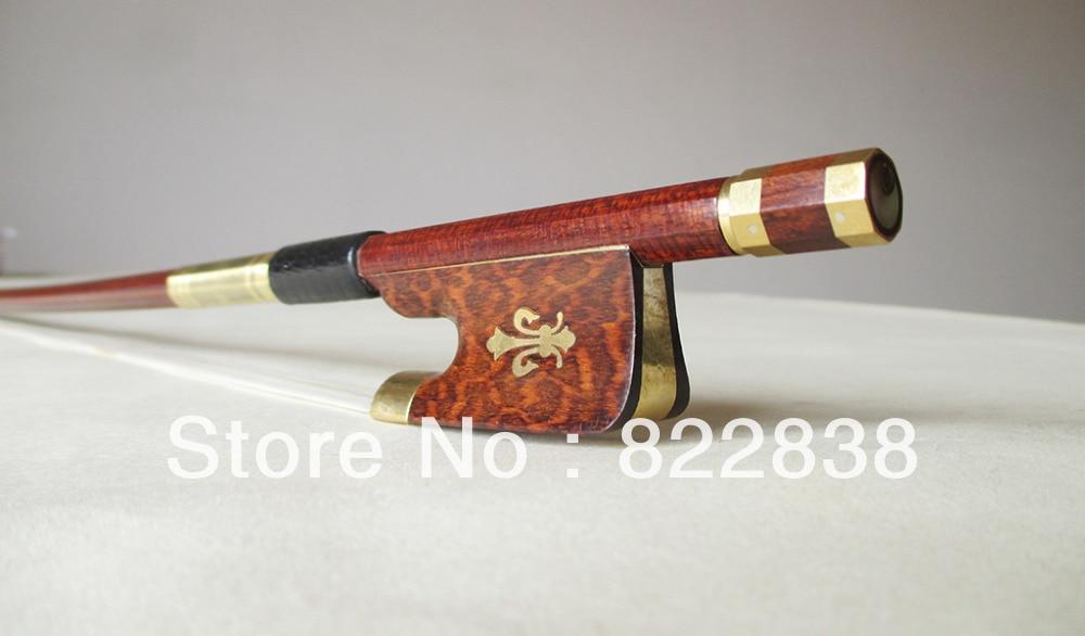 Viola Carbon fiber  bow  Master Level Gold Mounted snake wood frog FPZ014# violin carbon fiber bow master level gold mounted fpz021
