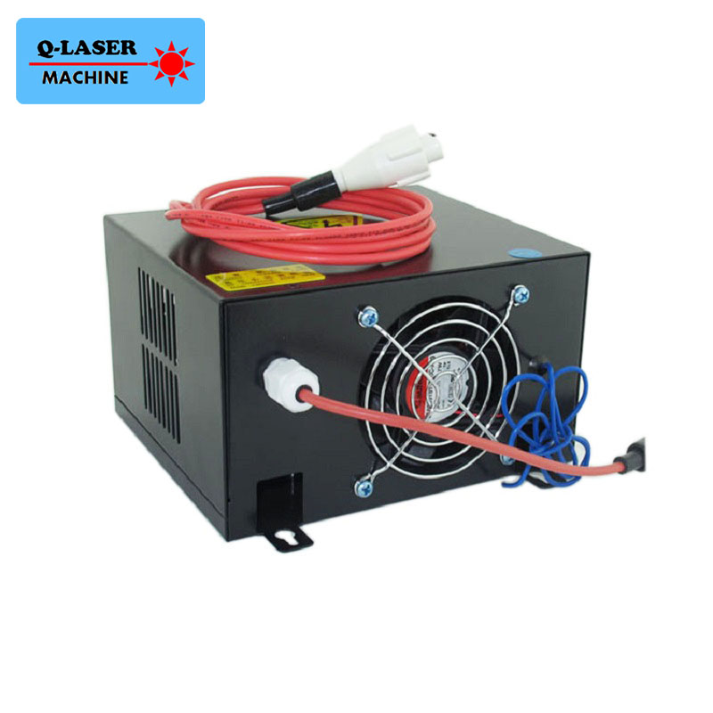 HY-T50 Co2 Laser Power Supply 50w For 40w 50w Laser Tube high voltage flyback transformer hy a 2 use for co2 laser power supply