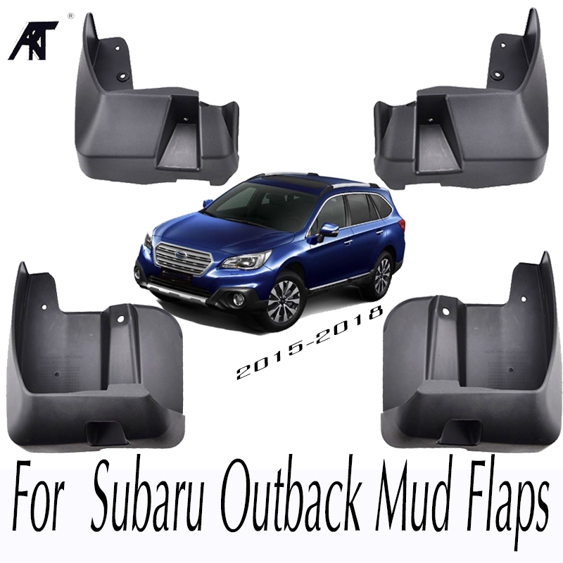 Car Mud Flaps For Subaru Outback 2015 2016 2017 2018 Mudflaps Splash Guards Mud Flap Mudguards Accessories OE Styled Set Molded fit for bmw x3 f25 11 15 molded mudflaps mud flap splash guard mudguards fender free shipping lzh