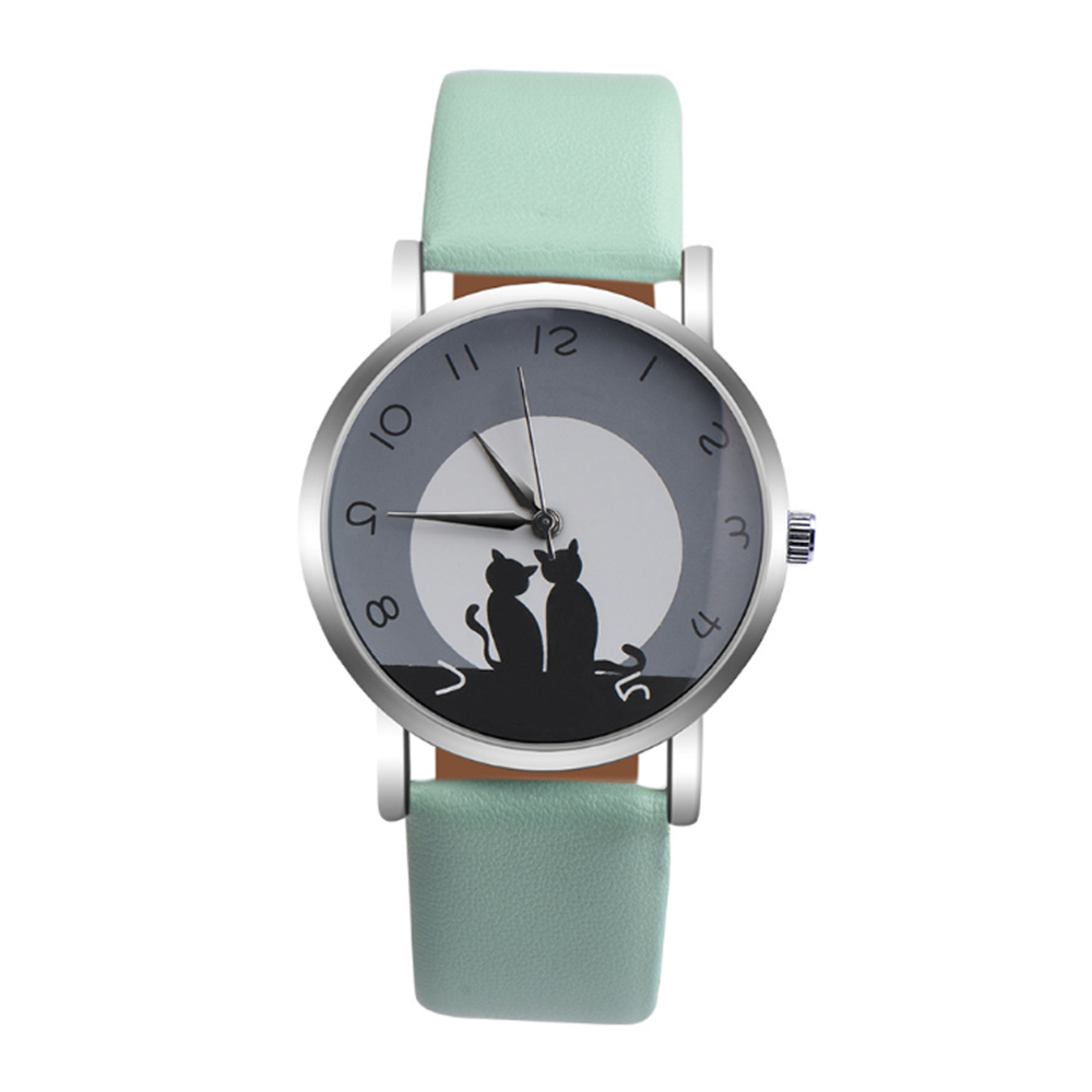 Luxury brand Fashion montre font b couple b font font b watch b font cat wrist