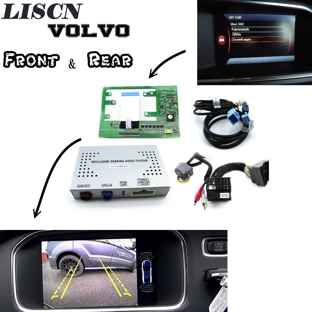 Pour Volvo Park Assist pilote avant et Bakcup caméra arrière interface caméra de recul améliorer V40 V60 V90 XC60 XC90 S60 S80 S90