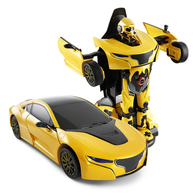 A Remote Control Car Star Rs Deformation Robot Toys Children S Toy
