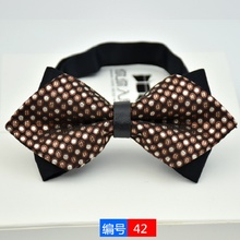 Bowties For Men Popular Polyester Mens Bowtie Cravats Ties Brand Newest Business Shirts Bow Wedding