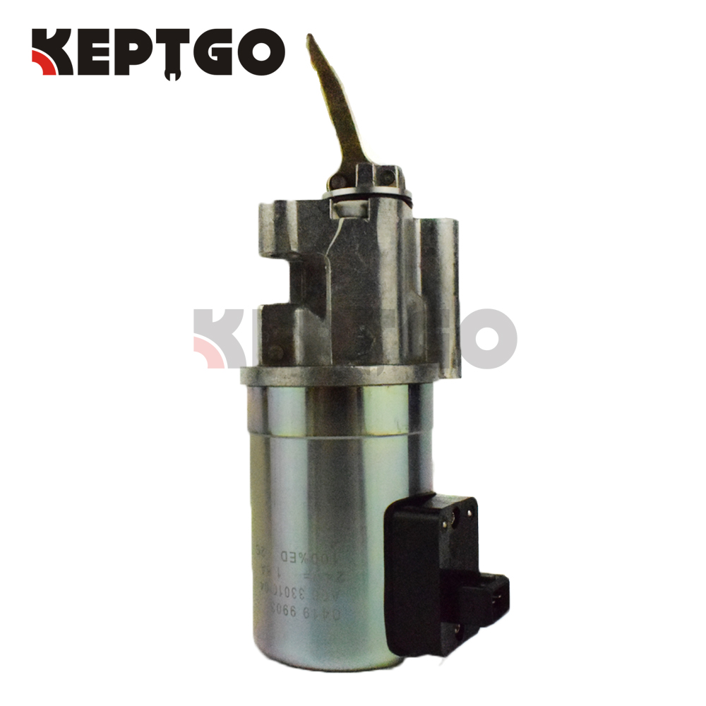 0419 9903, 0419 9905, 0211 3790, 0211 3792, 24v Fuel Shutoff Solenoid For Deutz BFM1013