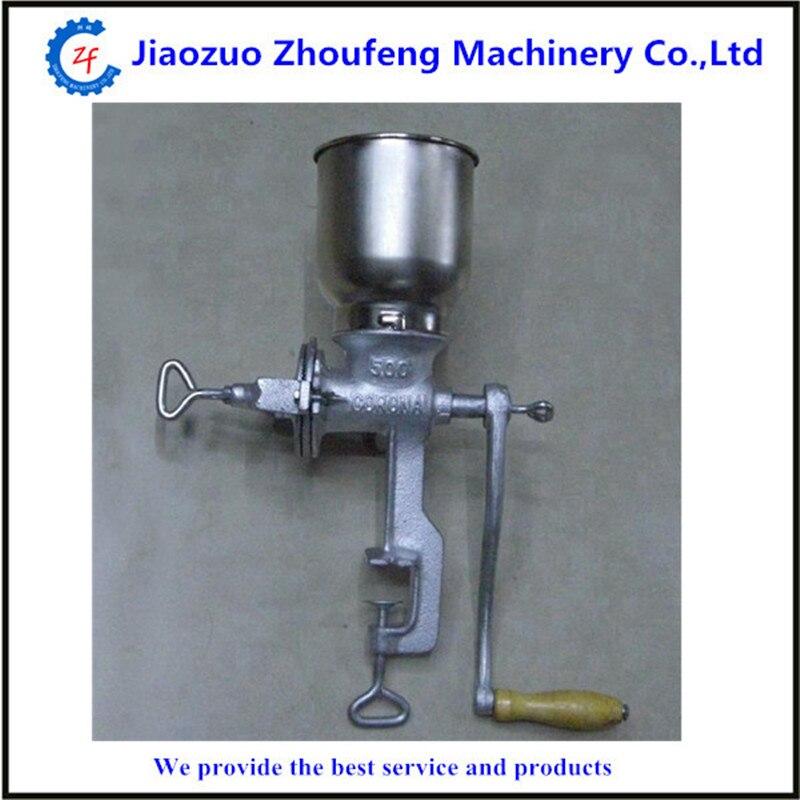 mini household manual maize meal grinding machine sorghum soybean crushing milling machiner  ZF