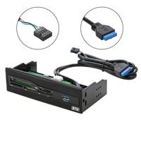 STW 5 25 Internal Card Reader Media Multi Function Dashboard PC Front Panel USB 3 0