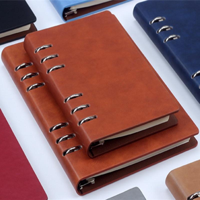 B5Macarons PU-bindmiddel A5 A6-notebook Dagboek Schema boek planner - Notitieblokken en schrijfblokken bedrukken - Foto 4