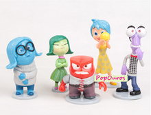New 5pcs/lotv PVC Inside Out Action Figures Cute Classic Inside Out Toys