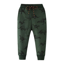 Jumping meters Animals Boys Trousers Pants Baby 2019 clothes dinosaurs sweatpants for 2-7t years boys full pants kids trousers(China)