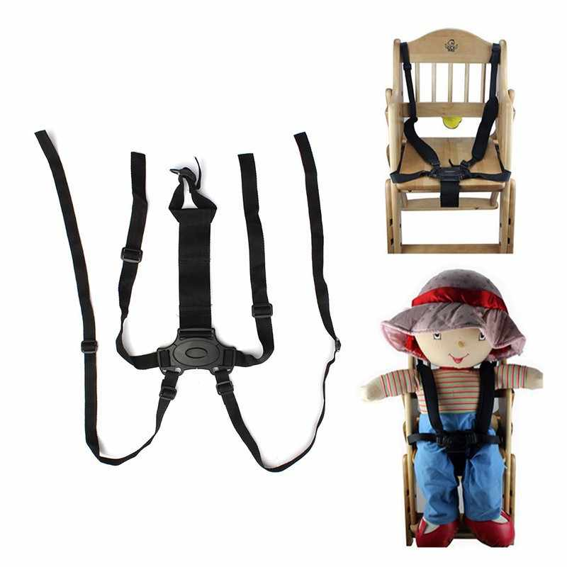 Детский стульчик коляска Защита сидения пояс-переноска 5 точечные ремни безопасности ремень для коляски детская коляска ремень