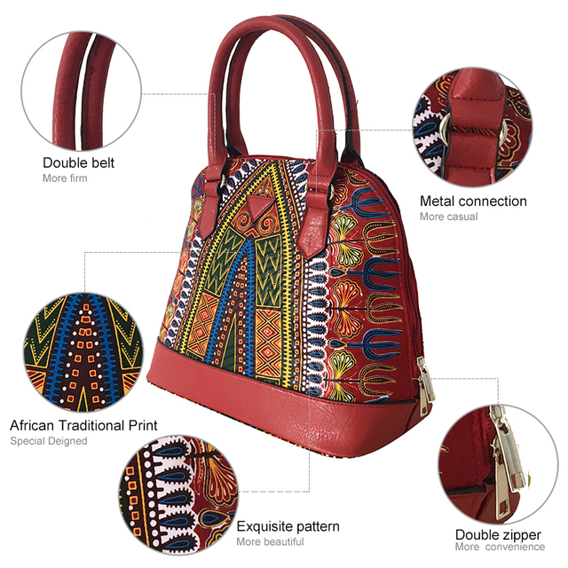 FANS FACE Africa Women Bags Mobile Messenger Ladies Handbag High Quality Luxury Handbags Women Bags Designer Traditional African 1
