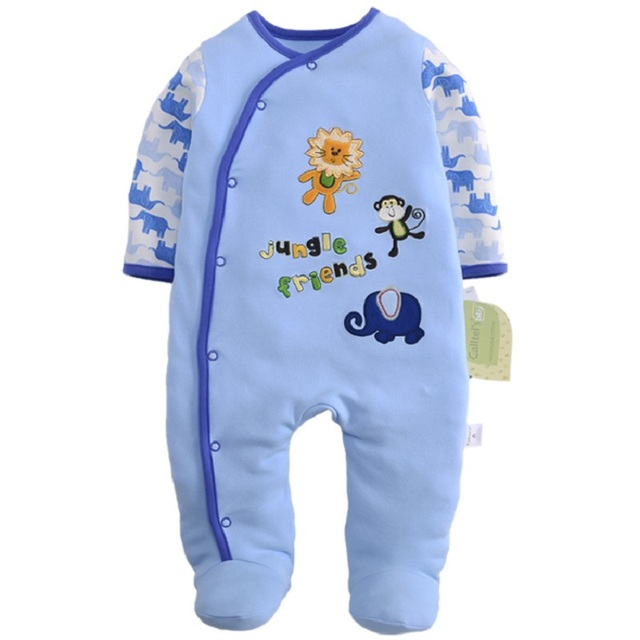bf02556db196 New Arrival Baby clothes baby boy girls footed romper baby rompers ...
