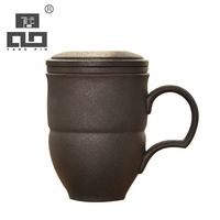 TANGPIN japanese ceramic coffee mugs travel tea mugs with filters ceramic coffee cup 320ml