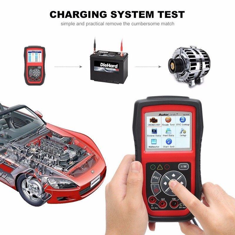 Autel AL539B OBD2 Scanner Car Code Reader Professional Electrical Test Tool (Upgraded Version of AL519)