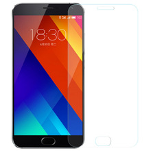 10pcs/lot High Quality Tempered Glass Screen Protector Film Accessory For Meizu MX5