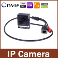 720 P 1.0MP (960 P 1.3MP) CCTV Mini Câmera IP 2.1mm Lente Grande Angular P2P Plug and Play Mini caixa caso suporte ONVIF